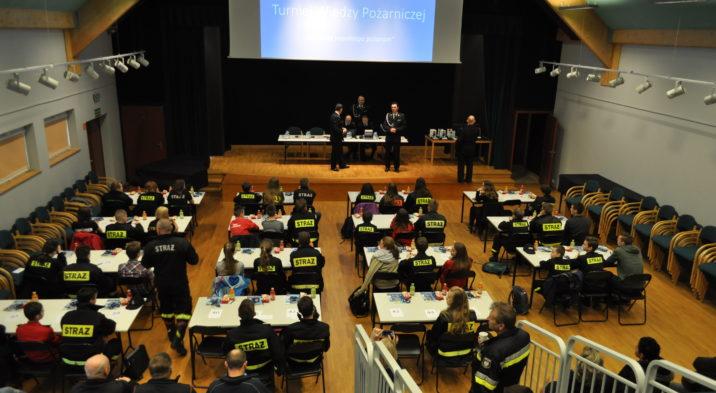 Powiatowy Turniej Wiedzy Pożarniczej w Pierwoszynie