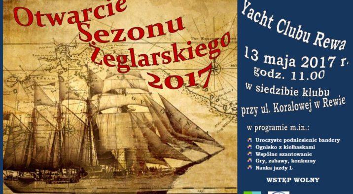 Otwarcie Sezonu Żeglarskiego Yacht Clubu Rewa
