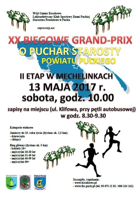 XX Biegi Grand Prix Powiatu Puckiego
