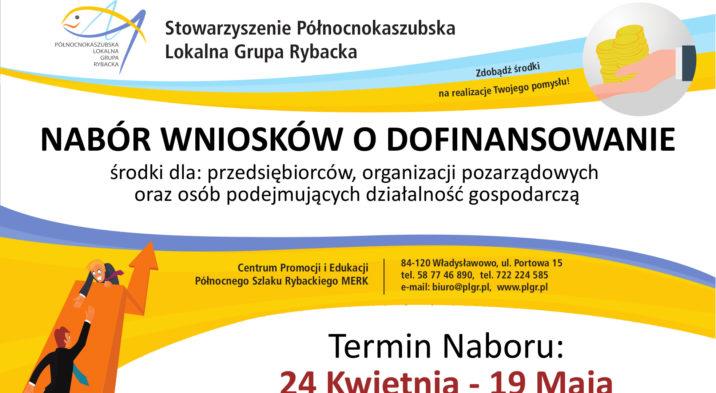 Nabór wniosków – Północnokaszubska Lokalna Grupa Rybacka