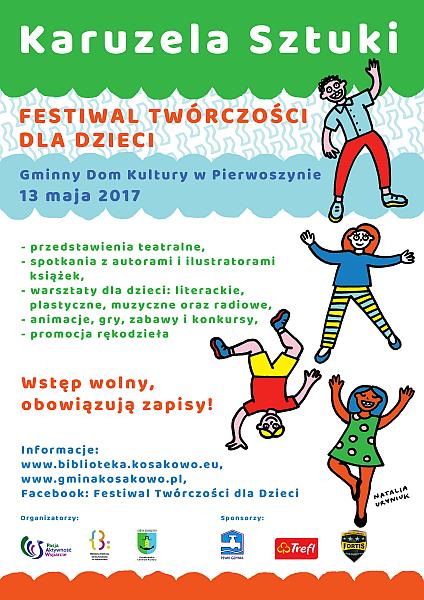 """Festiwal Twórczości dla Dzieci """"Karuzela Sztuki"""""""