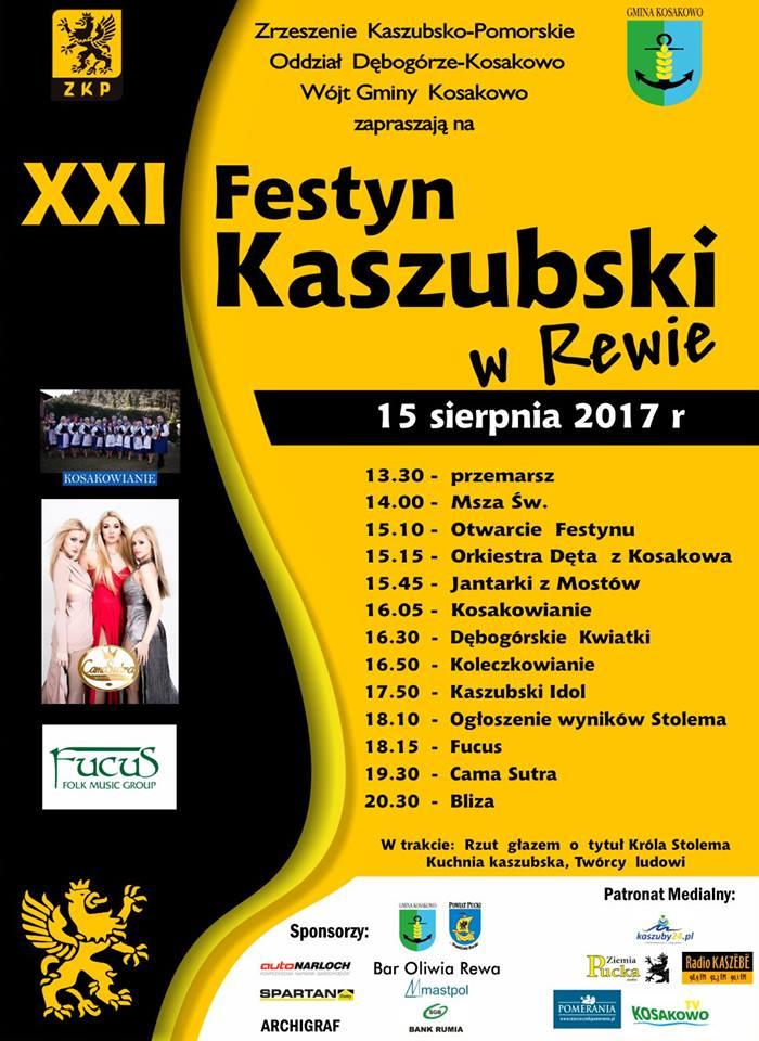 XXI Festyn Kaszubski w Rewie