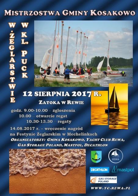 Mistrzostwa Gminy Kosakowo w Żeglarstwie