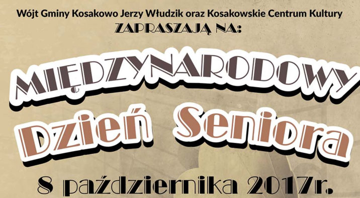 Międzynarodowy Dzień Seniora w Kosakowie