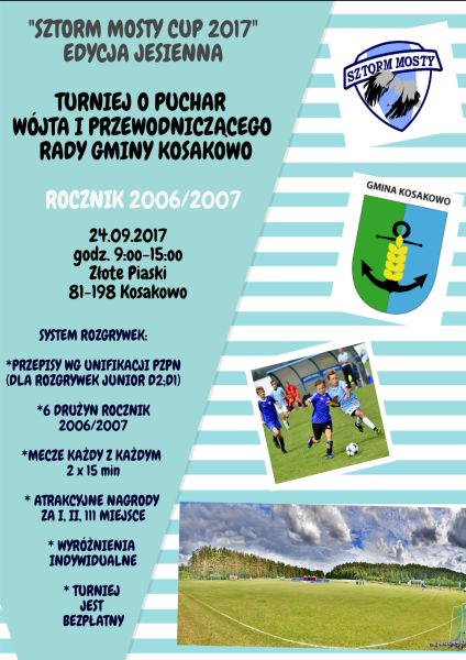 Turniej o Puchar Wójta i Przewodniczącego Rady Gminy Kosakowo