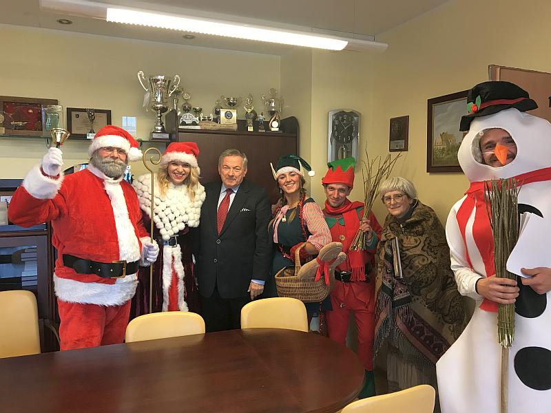 Święty Mikołaj zawitał do Kosakowa