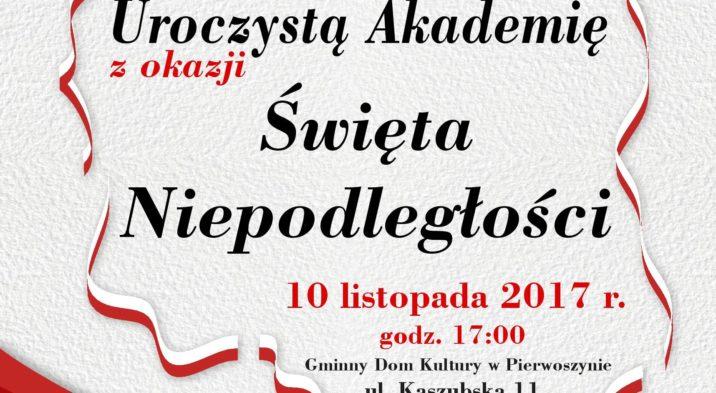 Uroczysta Akademia z okazji Święta Niepodległości