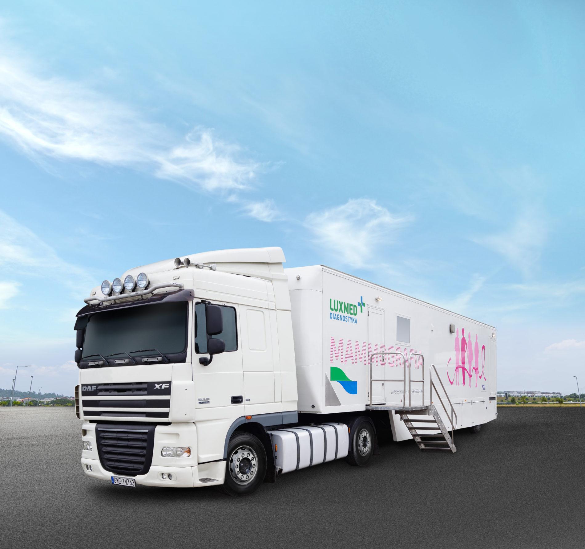 Mammobus LUX MED – bezpłatne badania mammograficzne dla kobiet w wieku 50-69 lat w grudniu 2018 – Kosakowo ( Powiat Pucki )
