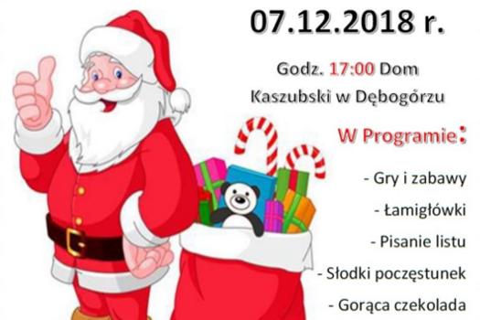 """Warsztaty """"A Letter to Santa Claus"""" – List do Świętego Mikołaja"""