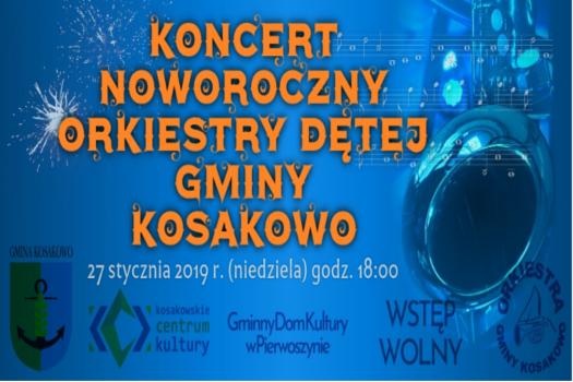 Koncert Noworoczny Orkiestry Dętej Gminy Kosakowo