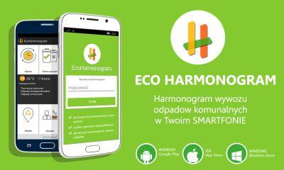 Aplikacja EcoHarmonogram dostępna dla mieszkańców Gminy Kosakowo