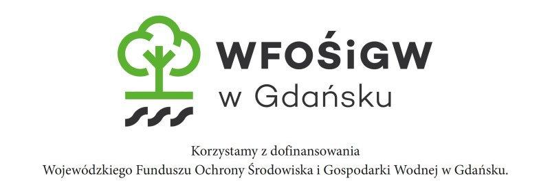Ilustracja przedstawia logotyp Wojewódzki Fundusz Ochrony Środowiska iGospodarki Wodnej wGdańsku