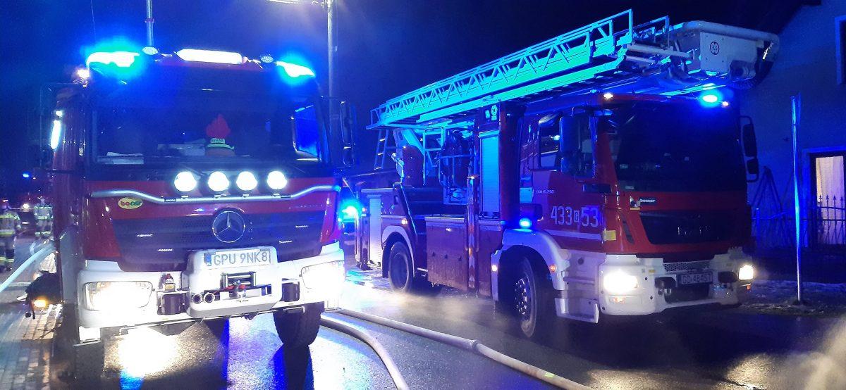 zastępy straży pożarnej