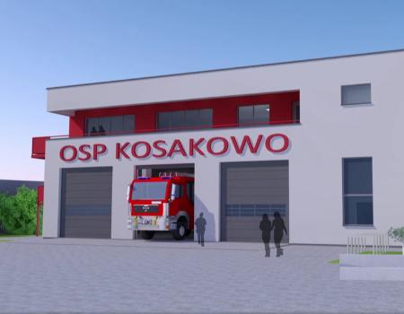 Zapraszamy douczestnictwa online wuroczystości wmurowania kamienia węgielnego podbudowę strażnicy dla OSP Kosakowo