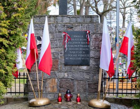Uroczyste obchody Narodowego Dnia Zwycięstwa w76. rocznicę zakończenia II wojny światowej wEuropie