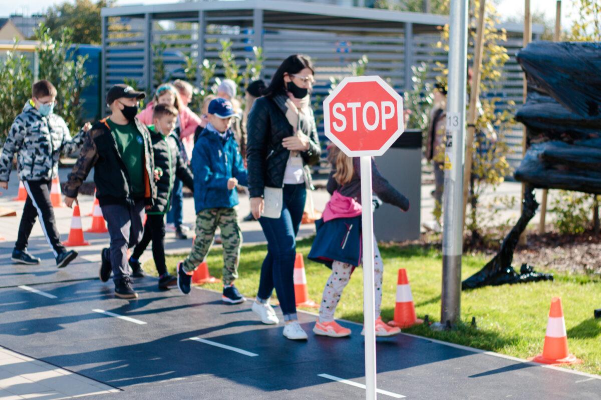 Dzieci wPogórzu odwiedziła Akademia Bezpieczeństwa